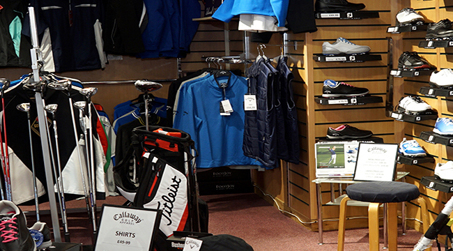staddon heights golf club pro shop products